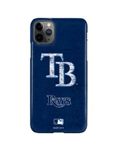 Tampa Bay Rays - Solid Distressed iPhone 11 Pro Max Lite Case