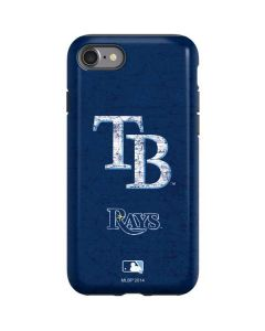 Tampa Bay Rays - Solid Distressed iPhone SE Pro Case