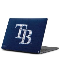 Tampa Bay Rays - Solid Distressed Apple MacBook Pro 13-inch Skin