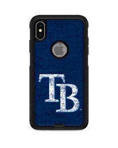 Tampa Bay Rays - Solid Distressed Otterbox Commuter iPhone Skin