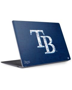 Tampa Bay Rays - Solid Distressed Surface Laptop 3 13.5in Skin