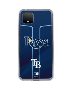 Tampa Bay Rays Alternate/Away Jersey Google Pixel 4 Clear Case