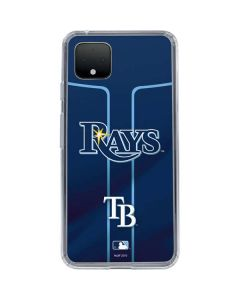 Tampa Bay Rays Alternate/Away Jersey Google Pixel 4 XL Clear Case