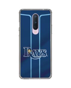 Tampa Bay Rays Alternate/Away Jersey OnePlus 8 Clear Case