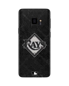 Tampa Bay Rays Dark Wash Galaxy S9 Skin