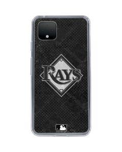 Tampa Bay Rays Dark Wash Google Pixel 4 Clear Case