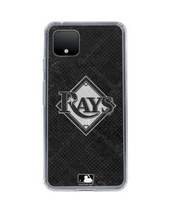Tampa Bay Rays Dark Wash Google Pixel 4 XL Clear Case