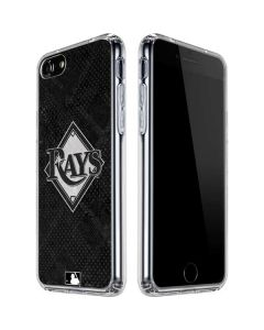 Tampa Bay Rays Dark Wash iPhone SE Clear Case