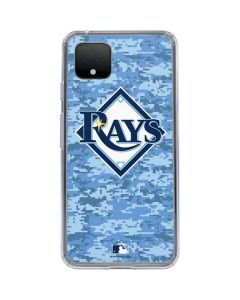 Tampa Bay Rays Digi Camo Google Pixel 4 XL Clear Case