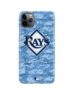 Tampa Bay Rays Digi Camo iPhone 11 Pro Max Lite Case