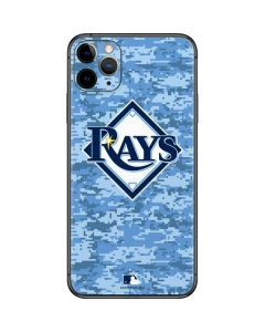 Tampa Bay Rays Digi Camo iPhone 11 Pro Max Skin