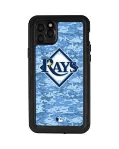 Tampa Bay Rays Digi Camo iPhone 11 Pro Max Waterproof Case
