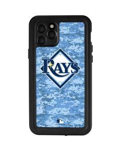 Tampa Bay Rays Digi Camo iPhone 11 Pro Waterproof Case