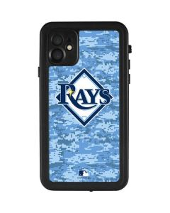 Tampa Bay Rays Digi Camo iPhone 11 Waterproof Case