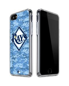 Tampa Bay Rays Digi Camo iPhone SE Clear Case