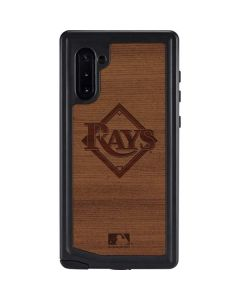 Tampa Bay Rays Engraved Galaxy Note 10 Waterproof Case