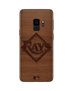 Tampa Bay Rays Engraved Galaxy S9 Skin