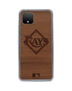 Tampa Bay Rays Engraved Google Pixel 4 Clear Case