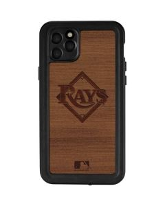 Tampa Bay Rays Engraved iPhone 11 Pro Max Waterproof Case