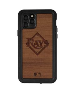 Tampa Bay Rays Engraved iPhone 11 Pro Waterproof Case