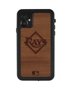Tampa Bay Rays Engraved iPhone 11 Waterproof Case