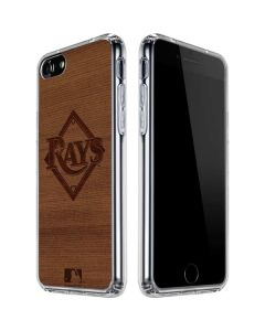 Tampa Bay Rays Engraved iPhone SE Clear Case