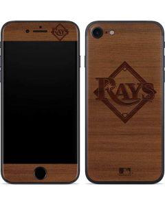 Tampa Bay Rays Engraved iPhone SE Skin