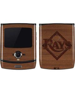 Tampa Bay Rays Engraved Motorola RAZR Skin
