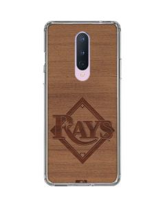 Tampa Bay Rays Engraved OnePlus 8 Clear Case