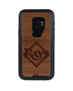 Tampa Bay Rays Engraved Otterbox Defender Galaxy Skin