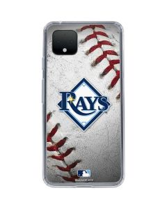 Tampa Bay Rays Game Ball Google Pixel 4 Clear Case