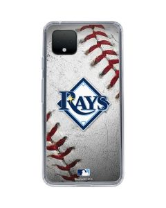 Tampa Bay Rays Game Ball Google Pixel 4 XL Clear Case