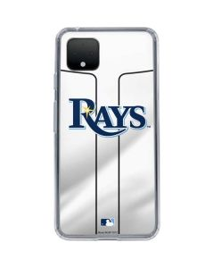 Tampa Bay Rays Home Jersey Google Pixel 4 Clear Case