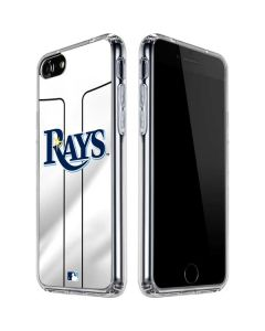 Tampa Bay Rays Home Jersey iPhone SE Clear Case