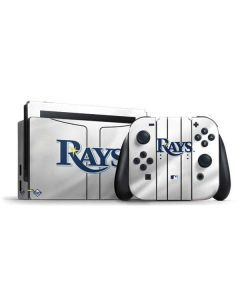 Tampa Bay Rays Home Jersey Nintendo Switch Bundle Skin