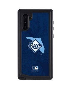 Tampa Bay Rays Home Turf Galaxy Note 10 Waterproof Case