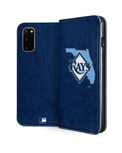 Tampa Bay Rays Home Turf Galaxy S20 Folio Case