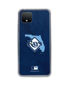 Tampa Bay Rays Home Turf Google Pixel 4 Clear Case