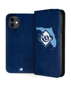 Tampa Bay Rays Home Turf iPhone 11 Folio Case