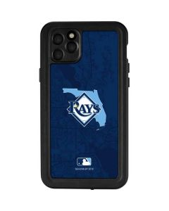 Tampa Bay Rays Home Turf iPhone 11 Pro Max Waterproof Case