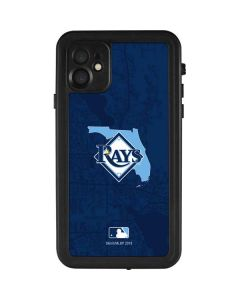 Tampa Bay Rays Home Turf iPhone 11 Waterproof Case