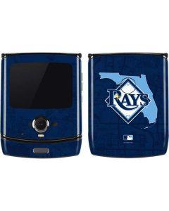 Tampa Bay Rays Home Turf Motorola RAZR Skin