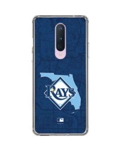 Tampa Bay Rays Home Turf OnePlus 8 Clear Case