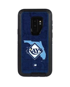 Tampa Bay Rays Home Turf Otterbox Defender Galaxy Skin