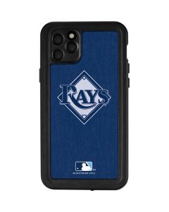 Tampa Bay Rays Monotone iPhone 11 Pro Max Waterproof Case