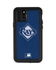 Tampa Bay Rays Monotone iPhone 11 Pro Waterproof Case