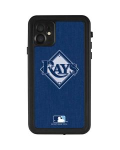 Tampa Bay Rays Monotone iPhone 11 Waterproof Case