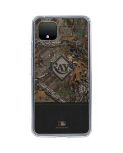 Tampa Bay Rays Realtree Xtra Camo Google Pixel 4 XL Clear Case