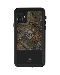 Tampa Bay Rays Realtree Xtra Camo iPhone 11 Waterproof Case