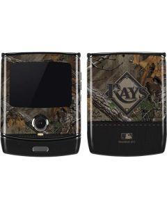 Tampa Bay Rays Realtree Xtra Camo Motorola RAZR Skin